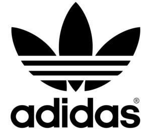 Adidas đã thay đổi logo thương hiệu bằng bông hoa ba cánh với đặc trưng vạch ngang ở giữa