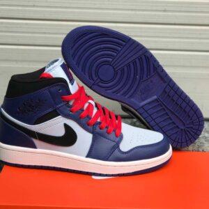 Nike Jordan 1 Mid v2 Blue/White
