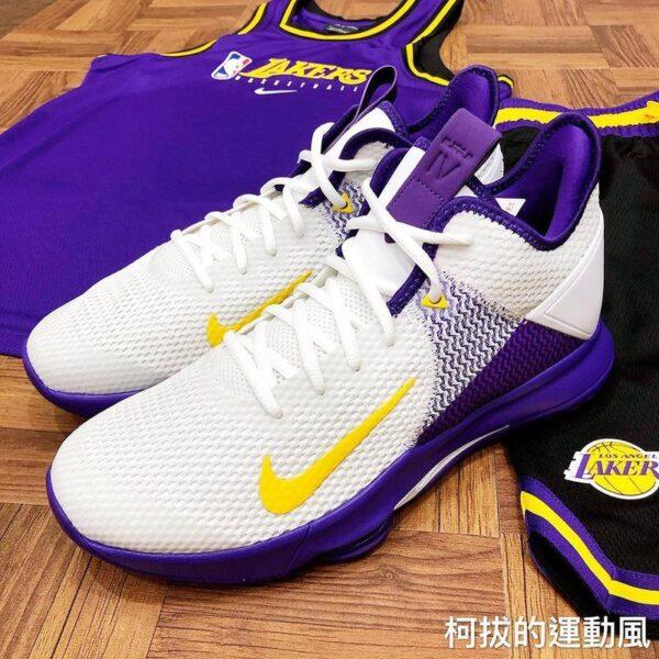 Nike Lebron Witness 4 Laker Basketball