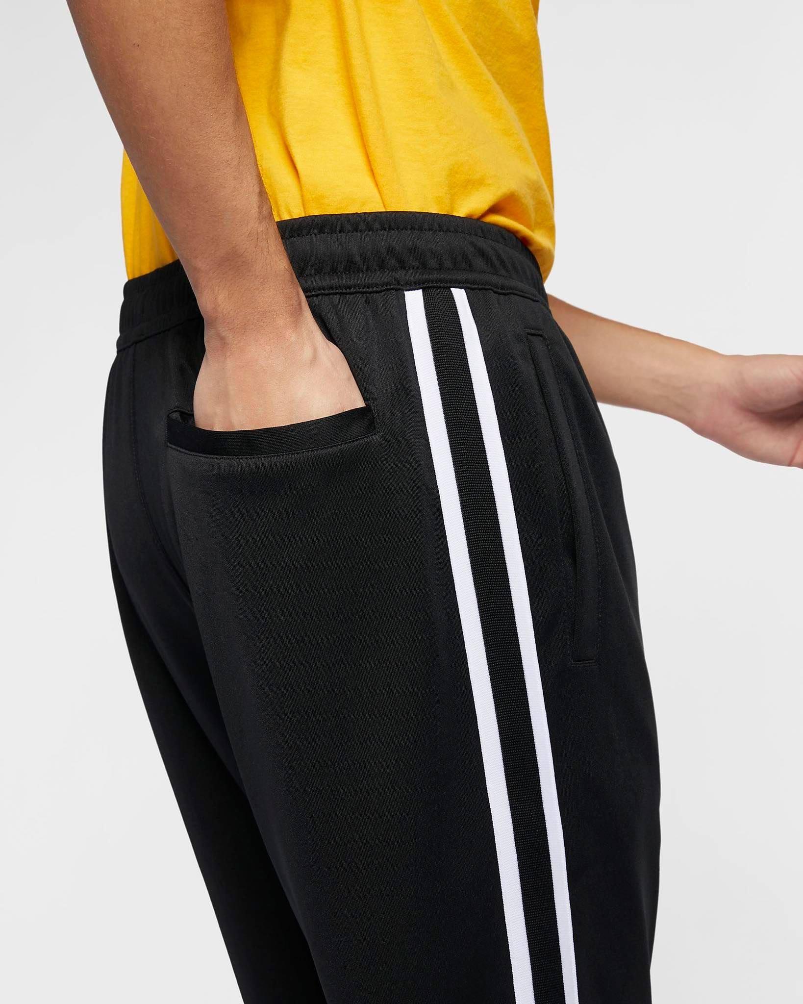 MEN'S SPORTSWEAR PANTS BLACK