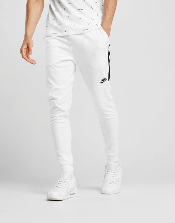 Nike Tribute Joggers In White