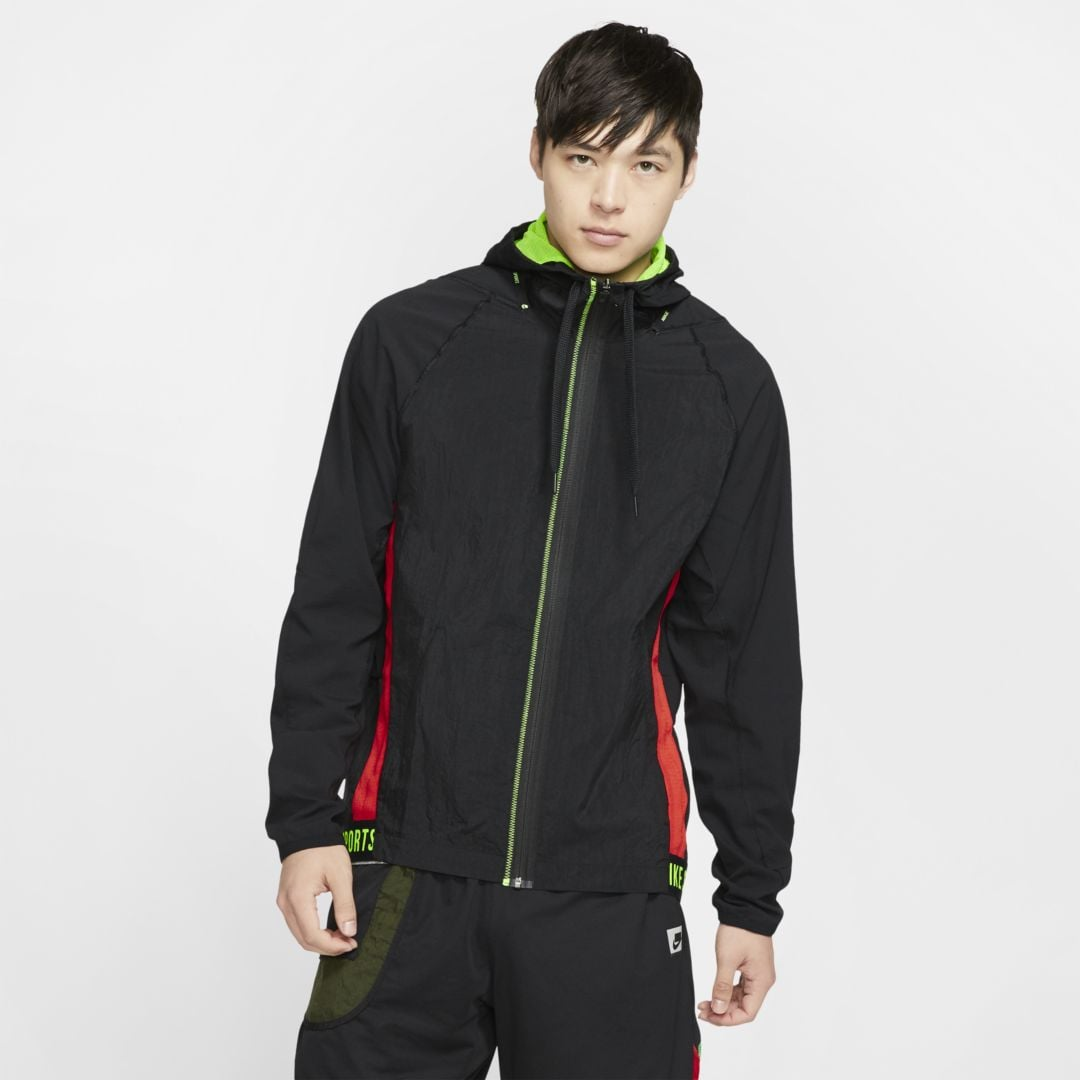 Nike Men's Flex Full Zip Jacket Px BLACK