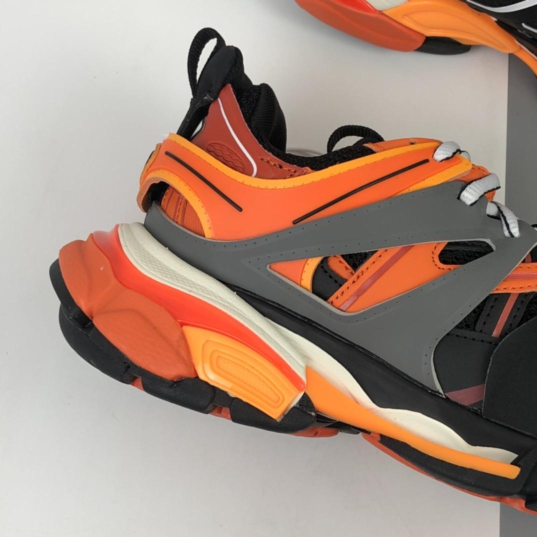 Balenciaga Sneaker Tess s.Gomma MAILLE WHITE/ORANGE 3.0