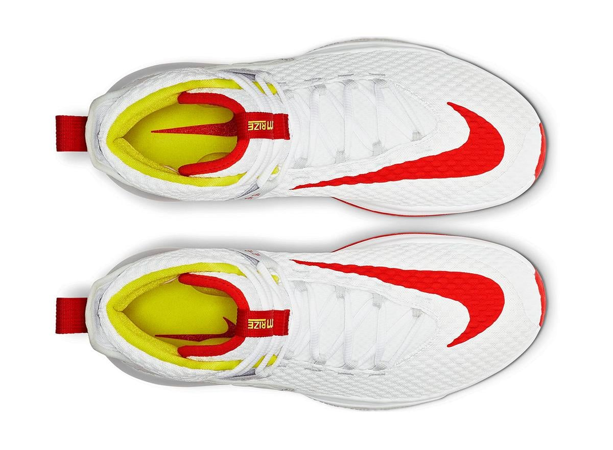 Nike Zoom Rise White Red