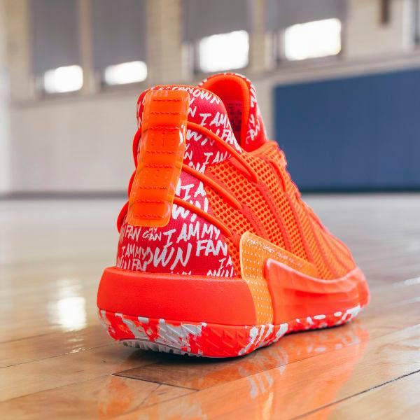 Adidas Dame 7 I Am My Own Fan Shoes - Orange
