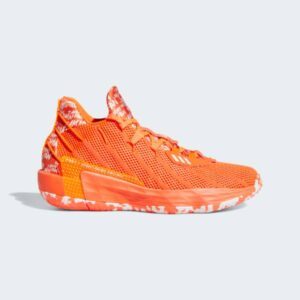 Adidas Dame 7 I Am My Own Fan Shoes - Orange