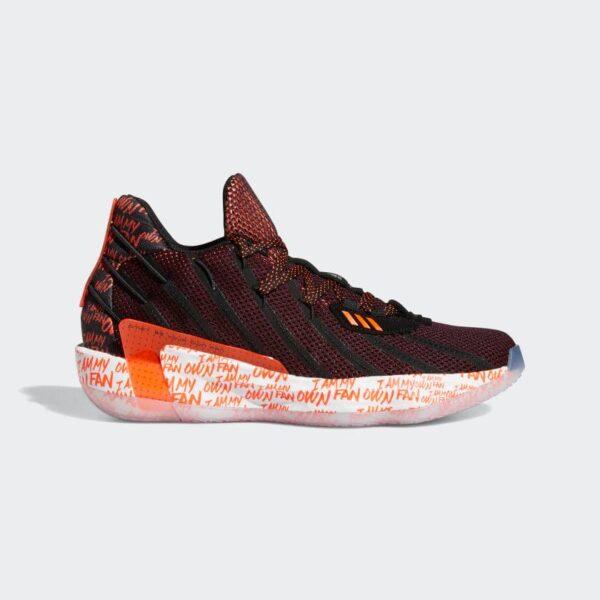 Adidas Dame 7 I Am My Own Fan SOLAR RED