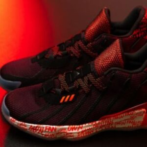 Adidas Dame 7 I Am My Own Fan SOLAR RED