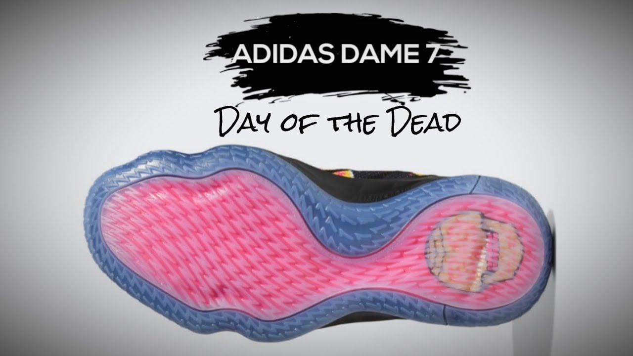 Adidas Dame 7 Day Of The Dead