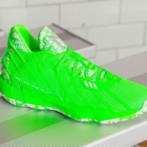 Adidas Dame 7 I Am My Own Fan Solar Green Basketball Shoes