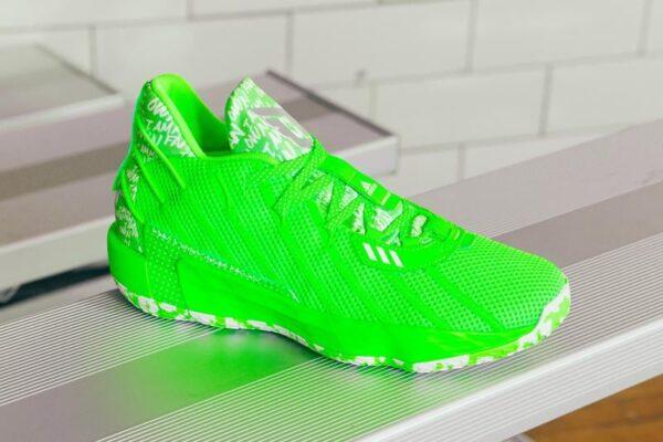 Adidas Dame 7 I Am My Own Fan Solar Green Basketball Shoes