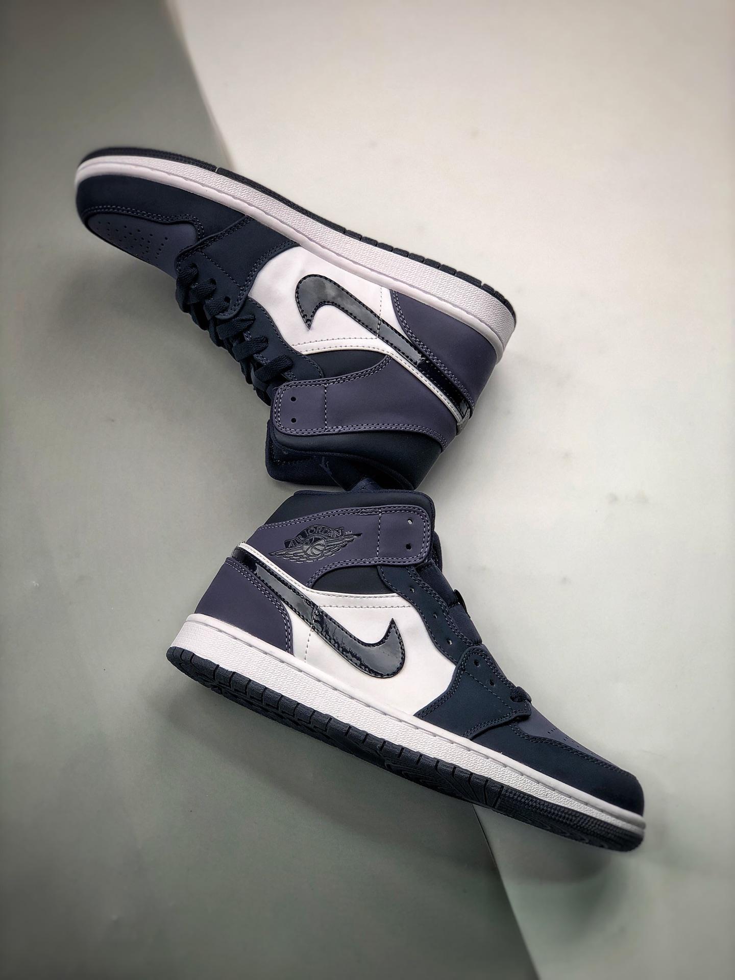 Nike Air Jordan 1 Mid Sanded Purple